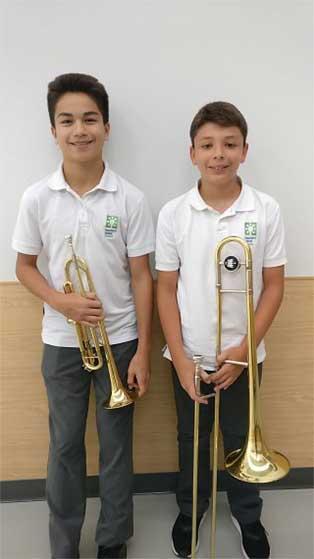 Newtons Groves School music program