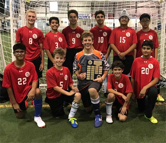 Newtons Groves School Soccer-Champions