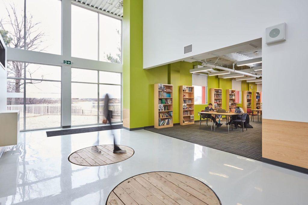 Newton's Grove School main section