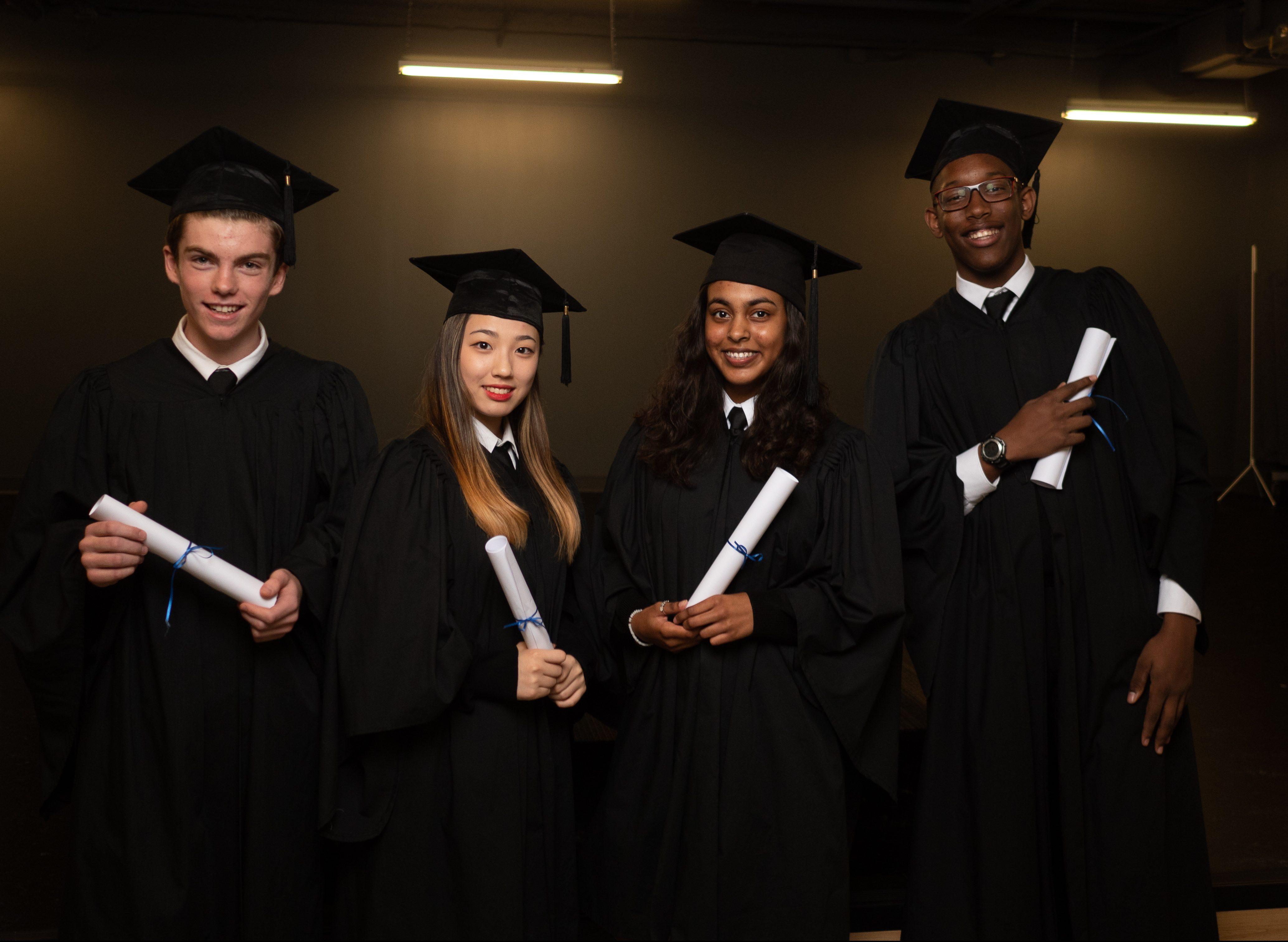 Newton's Grove School Graduate