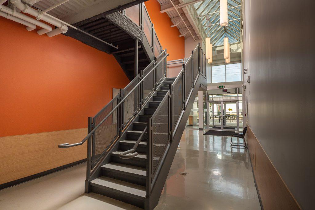 Newton's Grove School Stairway