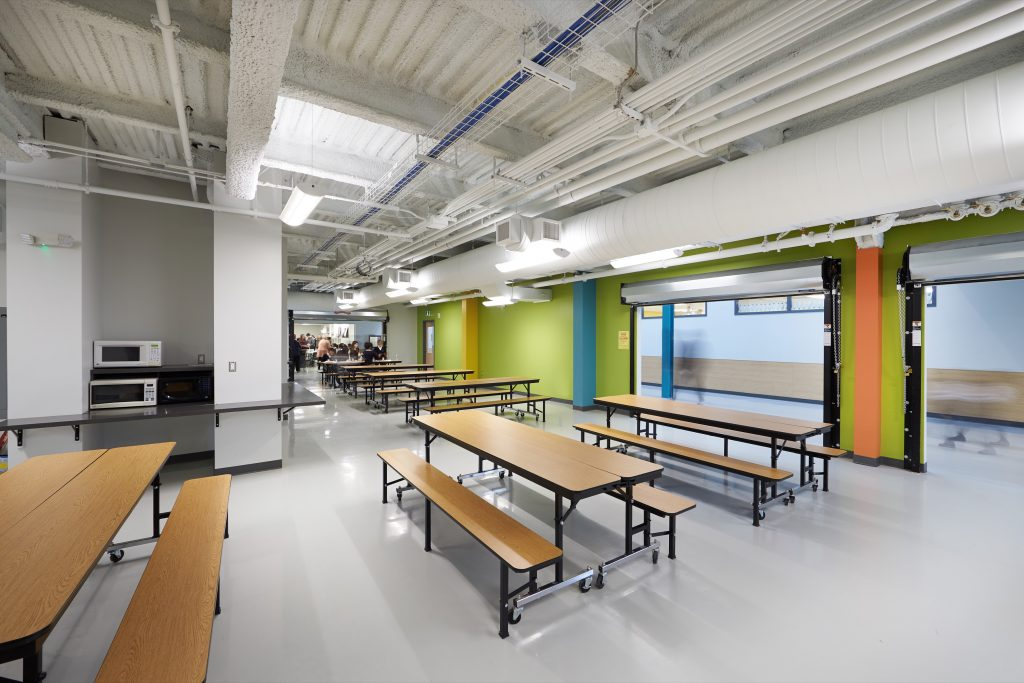 Newton's Grove School Lunchroom