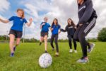 Newtons Grove School girls soccer team