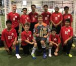 Newtons Grove school boys soccer team