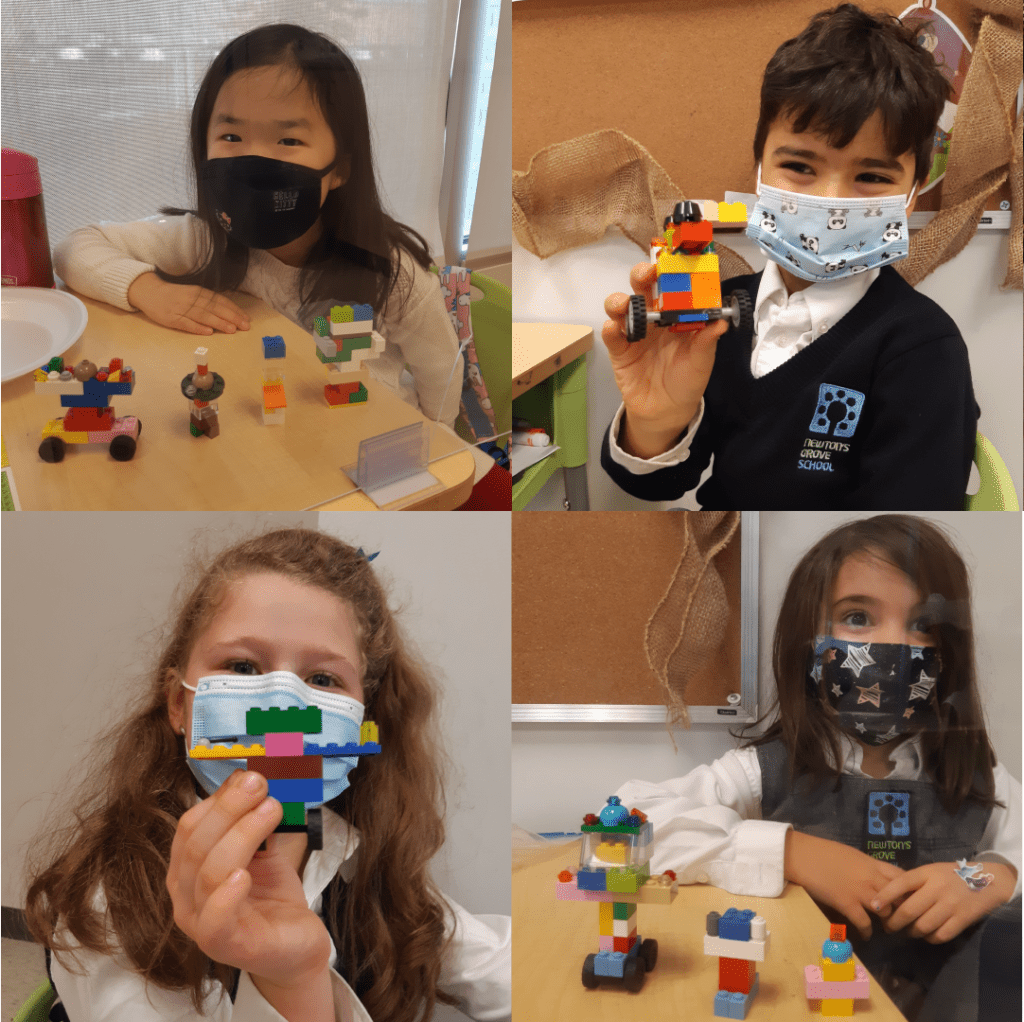 Little scientists of Newton's Grove student